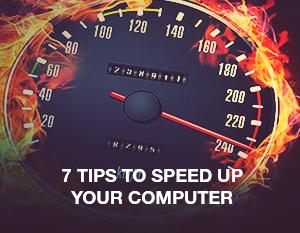 7 เทคนิคเพิ่มความเร็วให้คอมพิวเตอร์