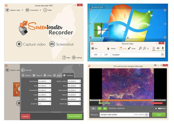 Screenshots: screen recorder