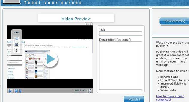 วิธีการใช้งาน ScreenToaster เครื่องมือดีๆ
