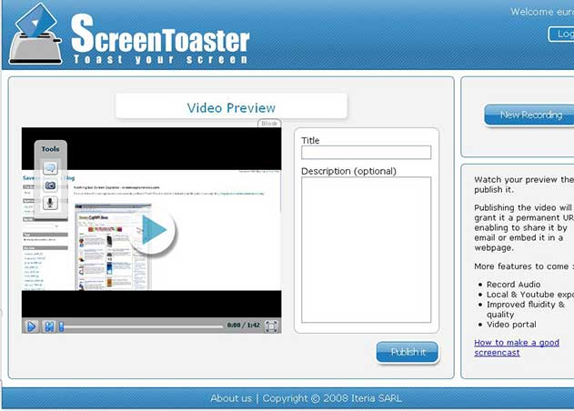 screentoaster