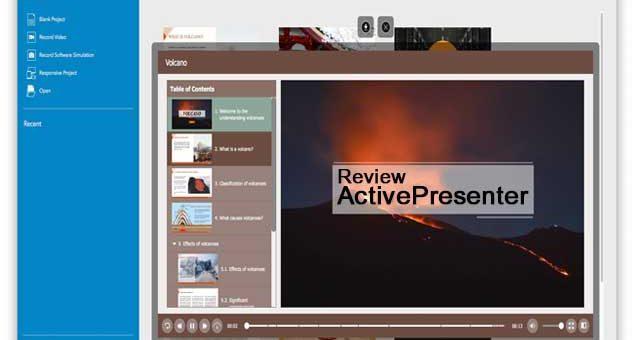 รีวิว APP ActivePresenter จับภาพหน้าจอ
